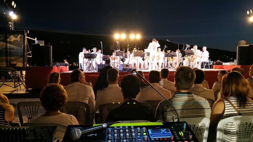 Ηχητική & Φωτιστική Κάλυψη Συναυλίας της μπάντας του Λιμενικού Σώματος στον Πόρο